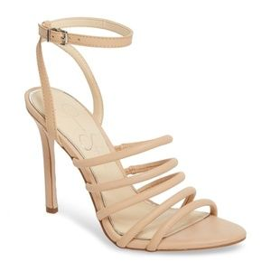 Jessica Simpson Joselle Women Shoes Nude Leather 7
